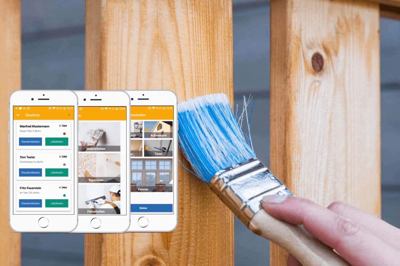 Maler Rechner: Angebot direkt beim Kunden erstellen und Zeit sparen!
