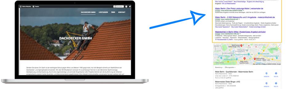 Google Werbung für Handwerksbetriebe, was ist das?